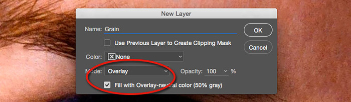 blend mode on layer fill with overlay