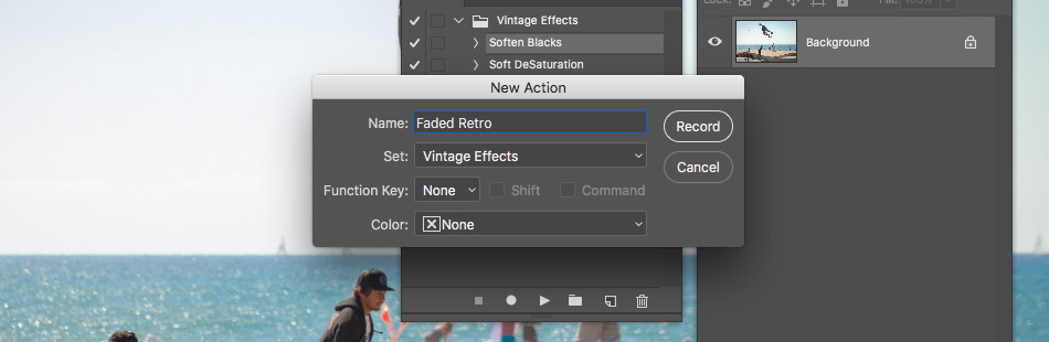 creating a master action in photoshop