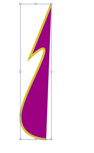half clock hand shape